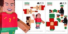 Catlico Romualdo Paper Toy Assembly Guidelines (Zoo&co - The Drawing Lounge) Tags: world africa cup portugal sport paper toys football cool funny play cut drawing fifa soccer glue south lounge decoration scissors celebration fold easy ronaldo cutter cristiano champions romualdo catlico freedownload zooco