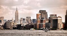 NYC. Nice shot from Hudson River by Edu2 in 2008