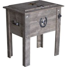 54-Qt. Barn Board Country Cooler