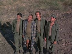 Hawkeye, Blake, Trapper and Burns(Burns the irritant) Great Tv Shows, Old Tv Shows, Wayne Rogers, Mash 4077, Hogans Heroes, 80s Tv, Tv Show Quotes, Vintage Tv, Classic Tv