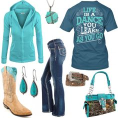 Life Is A Dance Outfit - Real Country Ladies - Plus a fantastic song(: Cute Cowgirl Outfits, Camo Outfits, Western Outfits, Dance Outfits, Western Wear, New Outfits, Casual Outfits, Fashion Outfits, Ladies Outfits
