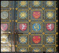 Praha/ Prague, Church Door Detail