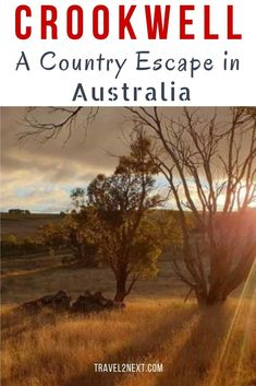 Crookwell is still a sleepy country town but it�s slowly waking up as retirees and young families are starting to discover the delights of country life. heres our Crookwell Travel Guide.