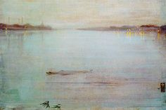 James Abbott McNeill Whistler, Nocturne Blue and Silver