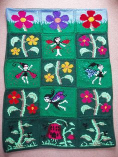 Ravelry: Fairy Blanket pattern by ShoedivaOriginals