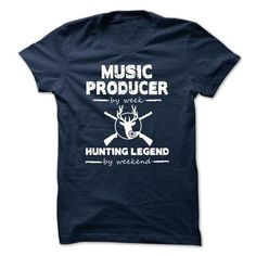 Awesome Tee Music Producer Cool Shirt T-Shirts
