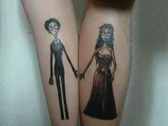 Great him&her tattoo