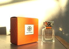 Tory Burch Perfume. Did I mention that the bottle is GORGEOUS?!
