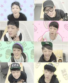 """many faces of kim jiwon"""