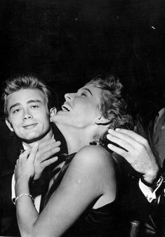 James Dean, i just like his face in this picture