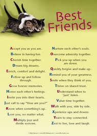 The ABC's of a Best Friend