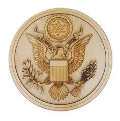 S Coat of Arms - Wooden Artwork Australia God Bless America, Coat Of Arms, Australia, Artwork, Work Of Art, Auguste Rodin Artwork, Family Crest, Artworks, The Sentence