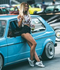 Sexy ride  @angela_kutscher vw_bugs_n_babes  #classicvolkswagen #mk1 #golf #vwgolf #mk1golf #mk1golfgti #gti #golfgti #camber #classiccars #sexy #cargirls #girlsandcars #German #Euro #adidas #classicvws #vwporn #vdubs #vwbus #mk2 #mk3 #mk4 #ghia #oldcars #oldvw
