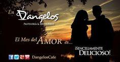No existe hora exacta para demostrar el amor, sea un amanecer o un atardecer. Feliz fin de semana enamorados les desea D'angelos Pastelería & Restaurant - Google+