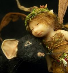 OOAK Fairy Sculpture
