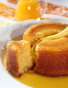 ++ Fondant à l'Orange 2 grosses oranges 2 œufs 120 g beurre, sucre, farine 1/2 sachet de levure +100g de sucre (attention : sirop > cuire longtemps)