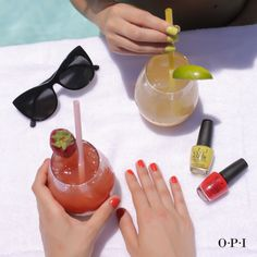 Girls day by the pool with #OPIBrights! #SundayFunday