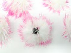 Bubblegum Faux Fur Pom Poms – Warehouse 2020 Faux Fur Pom Pom, Bubble Gum, Pom Poms, Bright Pink, Make It Yourself, Warehouse, Cord, Flowers, Handmade