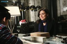 "#OnceUponATime 4x14 ""Unforgiven"" - Regina and Henry"