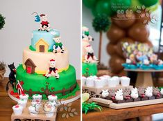 Three Little Pigs Birthday Party Theme via Kara's Party Ideas -www.KarasPartyIdeas.com