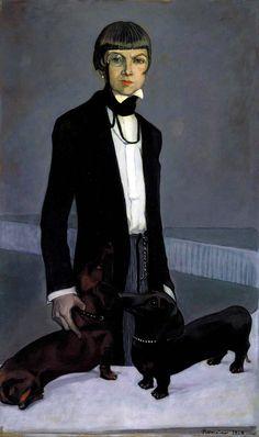 Romaine Brooks, Una, Lady Troubridge, 1924