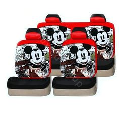 Buy Wholesale Mickey Mouse Universal Car Seat Covers Sets