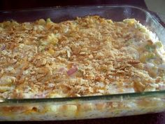 Easy to put together.  Use leftover cooked chicken or turkey.
