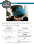 Ravelry: Blue Leaf Headband pattern by Adrienne Krey