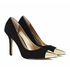 Cap toe pumps - Kella...Gasp!! I own these! Thanks to my niece who sent them to me.