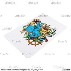 Release the Kraken! Template Floor Mat