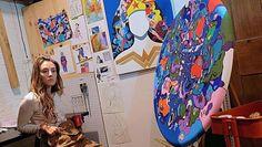 Ellannah Sadkin- Toonology- curated by Lori Zimmer - http://art-nerd.com/newyork/ellannah-sadkin-toonology-curated-by-lori-zimmer/