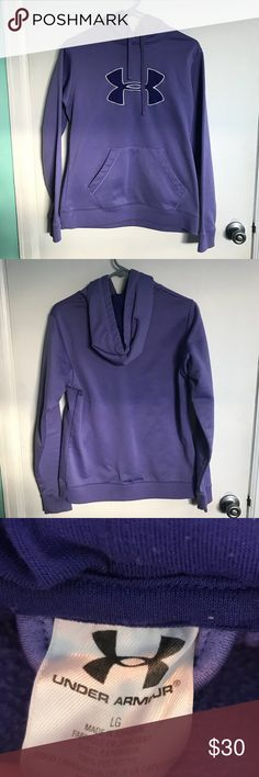 Purple Under Armour Hoodie Purple Under Armour Hoodie in excellent used condition. Under Armour Tops Sweatshirts & Hoodies