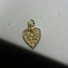 Sterling silver plated with 14k gold pendant New, never worn, sterling silver plated with gold pendant on sterling silver frame. Excellent conditions! Italian Jewlers  Jewelry Necklaces