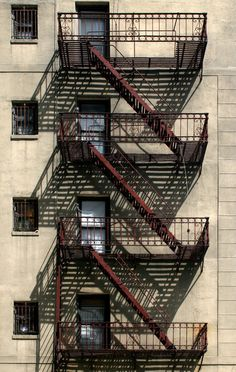 Olivia Post, Manhattan Fire Escape