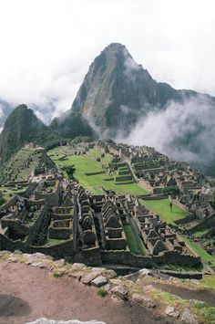 Macchu Picchu, Peru  I will make it here one day. If its the last thing I do.