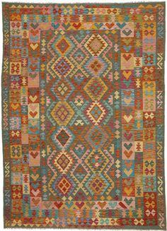 Kelim Afghan Old style 208x298 - CarpetVista