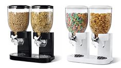 Cereal fall perfectly into their bowl while moms can be assured that kids will not be spilling cereal all over the kitchen. Best of all, the dispenser ishermetically sealed which preserves the freshness of dry food. | eBay!