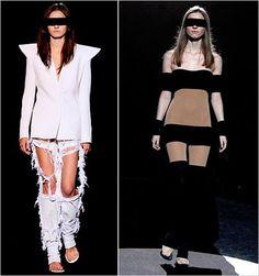 Extreme Fashion.  Art on the catwalk. margiela