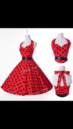 50s 60s rockabilly swing dress