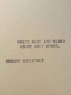 Brutal honesty!