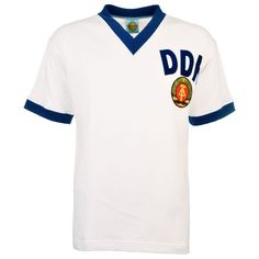 d0e2d816f East Germany (DDR) 1974 World Cup Away Retro Football Shirt
