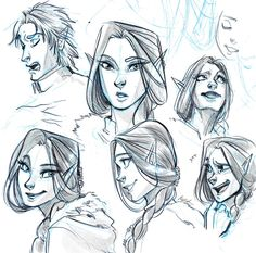 Expressions Sketch - Luilin! by Myed89.deviantart.com on @deviantART