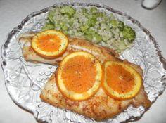 Spicy Orange Tilapia Recipe