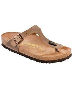 Herren Medina Flip-flops, Braun Birkenstock