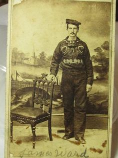 Civil War CDV of a Navy Soldier and Medal of Honor Winner