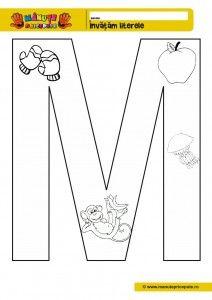 Картинки по запросу litera m mare de tipar fisa de lucru Playing Cards, Teacher, Cl, Montessori, Autism, Mary, Double Deck Bed, Professor, Playing Card Games