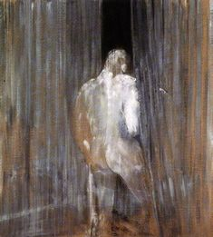 francis bacon art | Study from the Human Body 1949 — published as Study for Nude