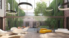 Concept design, architectural renderings and virtual tour of offices