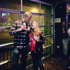 "@danbrooo and I are such karaoke superstars. Our go to song is ""Toxic"" by Brittney Spears... What's yours?? -- #chicagogram #chicagopics #chicagolife #windycitybloggers #chicagoblogger #chicago #chicagomusic #chicagobars #karaoke #sing #wrigleyville"