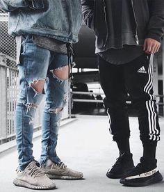 Moda Masculina Inverno 2017. Macho Moda - Blog de Moda Masculina: Roupa de Homem Outono/Inverno 2017 - Tendências. Roupa de Homem 2017, Roupa de Homem Inverno 2017, Moda Masculina, Moda para Homens, Anos 90, Calça Adidas, Yeezy Boost 350 v2, Yeezy Boost 350, Calça Jeans Skinny Rasgada
